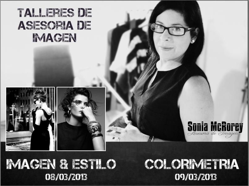 Sonia McRorey Asesoria de Imagen en Paraguay- Talleres Marzo 8-9