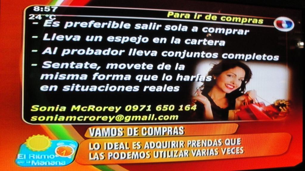 Sonia McRorey Asesora de Imagen Asuncion-Paraguay