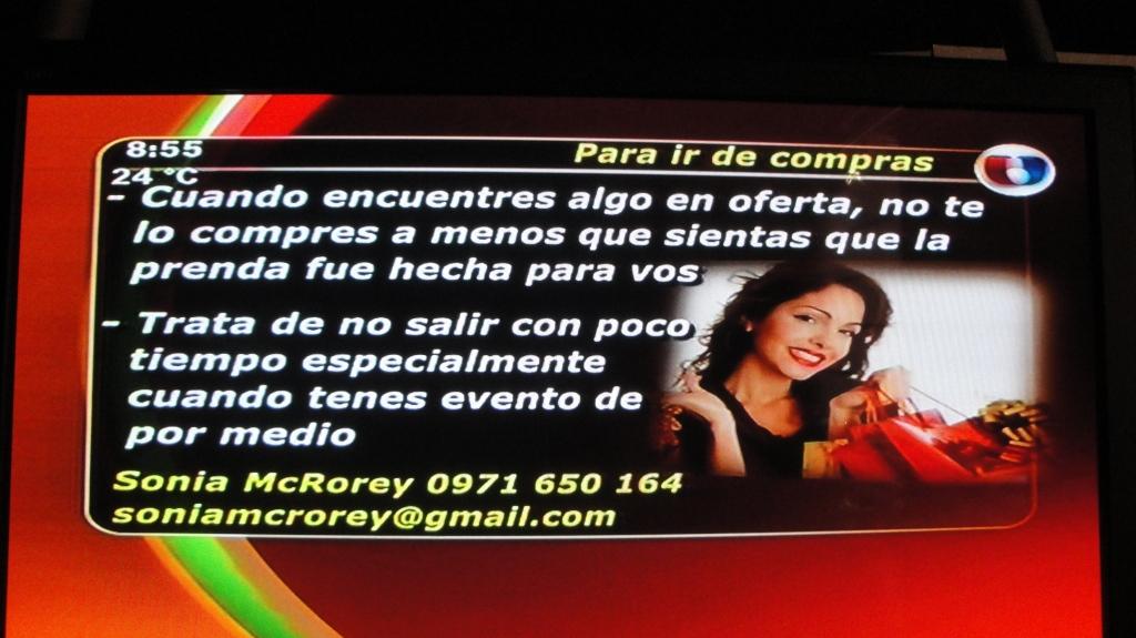 SoniaMcRorey AsesoraDeImagenUnicanal Paraguay