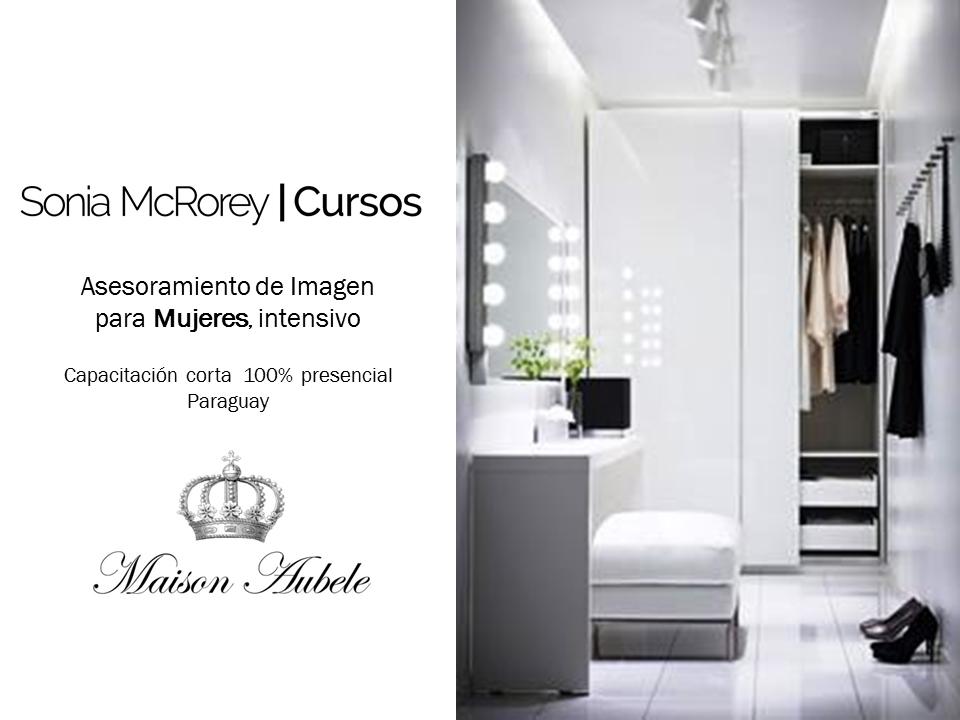 Asesoramiento de Imagen p Mujeres MaisonAubele SoniaMcRorey Cursos