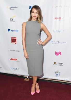 NEW YORK, NY - JUNE 10: Actress Jessica Alba attends the 2015 Forbes Women's Summit: Transforming The Rules Of Engagement at Pier 60 on June 10, 2015 in New York City. (Photo by Michael Loccisano/Getty Images)