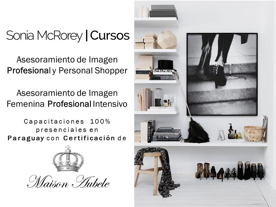 Asesoramiento de Imagen profesional con Certificacion Maison Aubele-SoniaMcRorey-Cursos-Paraguay