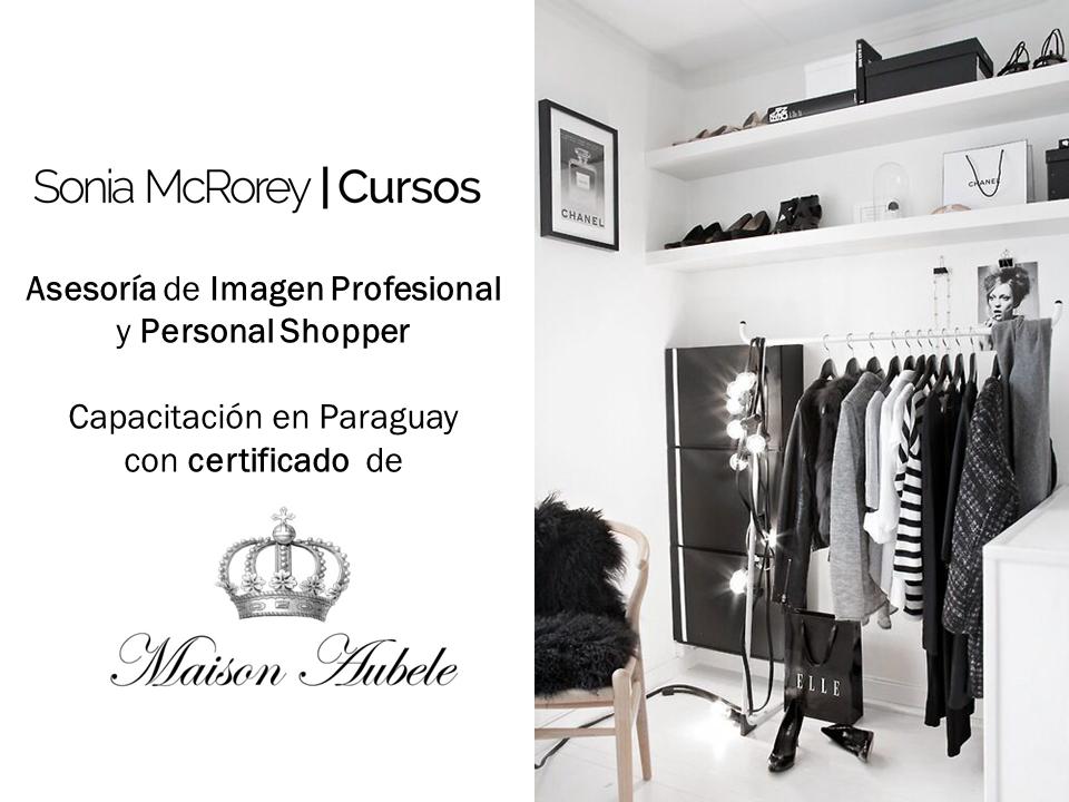 Asesor de Imagen profesional con certificado MaisonAubele SoniaMcRorey Cursos-Asuncion-Paraguay