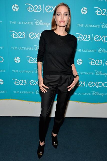 Angelina Jolie error en tono de cabello Sonia McRorey Asesora de Iamgen Color Colorimetria uso en la estetica maquillaje y tinte
