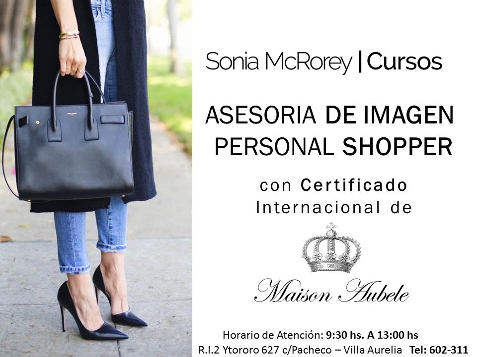Asesora de Imagen profesional con Diploma Internacional Maison Aubele-SoniaMcRorey-Curso-Estudia-Asu Paraguay