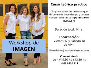 Publicidad WORKSHOP de Imagen con CertificadoSoniaMcRorey-Curso-Estudia-Mujer