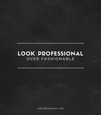 Luci profesional antes que a la moda Vestimenta de Poder Consejo SoniaMcRorey Asesoria de Imagen y Cursos