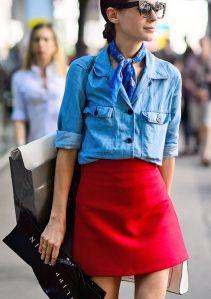 denim-shirt-red-skirt-600x852