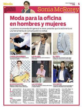 Colaboracion Diario Extra SoniaMcRorey Asesoria de Imagen Vestimenta laboral