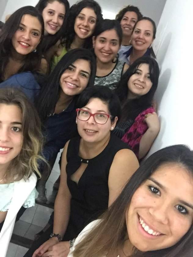 SoniaMcRorey cumple con alumnas del Diplomado Asesor de Imagen Asuncion Paraguay