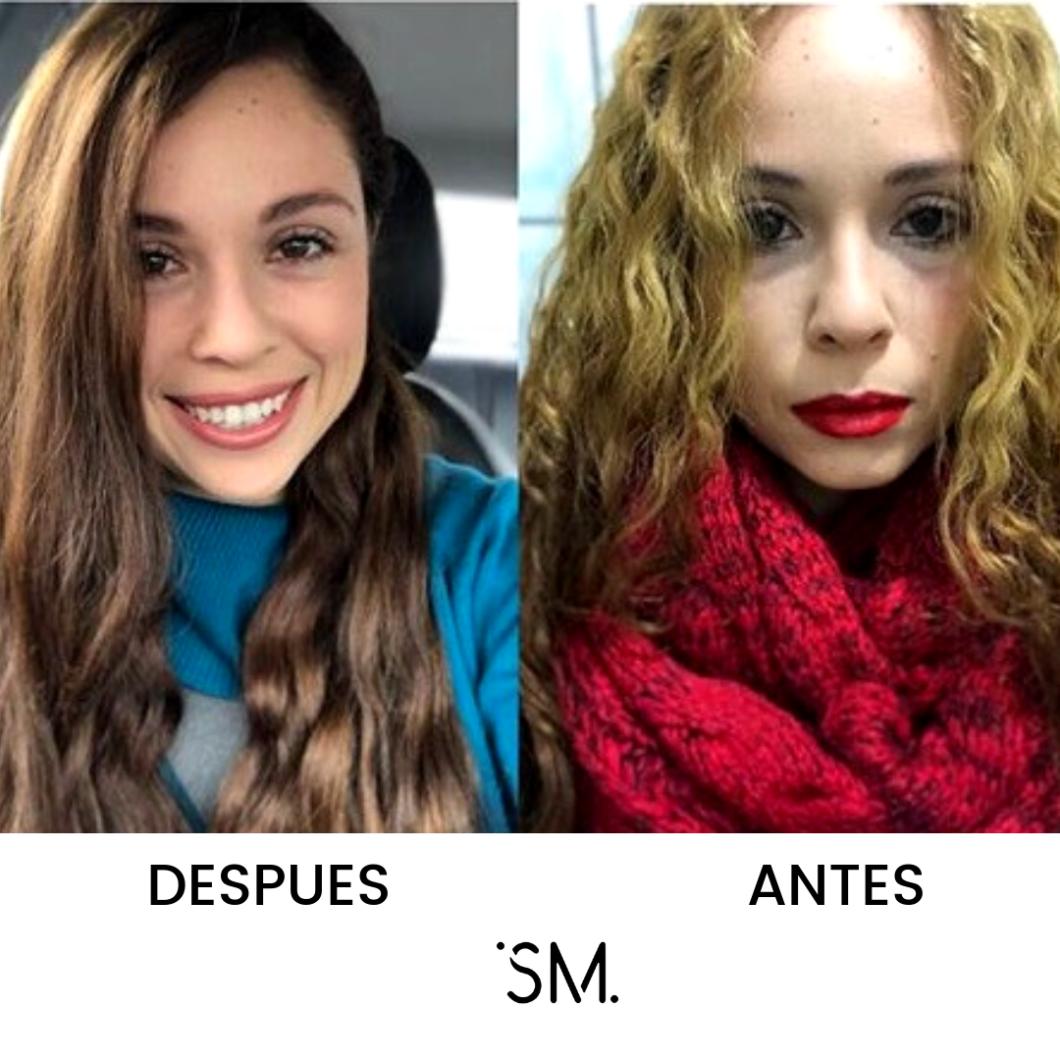 Cambio de tonos en cabello -maquillaje y ropa asistente a taller de imagen personal Tijuana San Diego SoniaMcRorey Asesoria Asesor Coach de Imagen Latina Hablahispana Paraguay Asu CDE